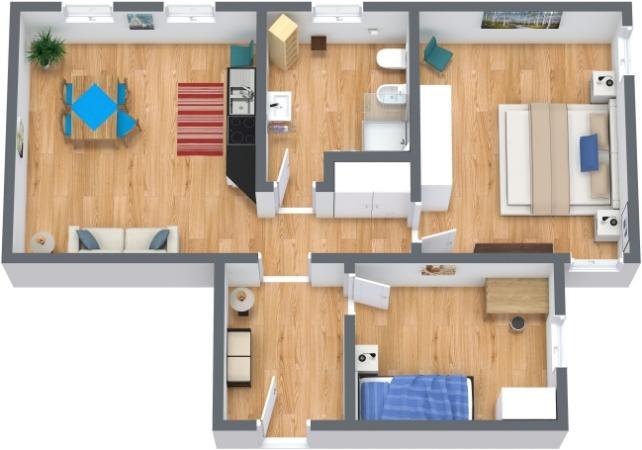 Planimetria Appartamento N.200