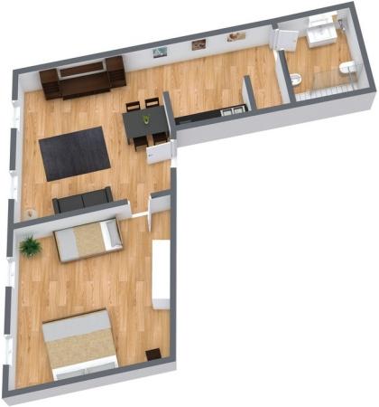 Planimetria Appartamento N.21