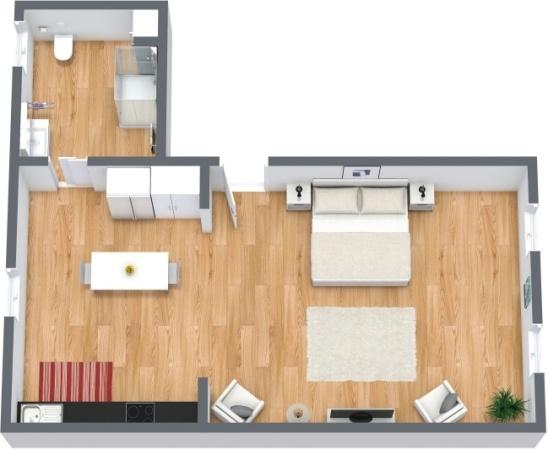 Planimetria Appartamento N.217