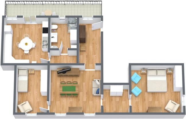 Planimetria Appartamento N.220