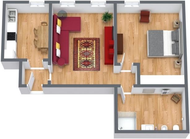 Planimetria Appartamento N.224