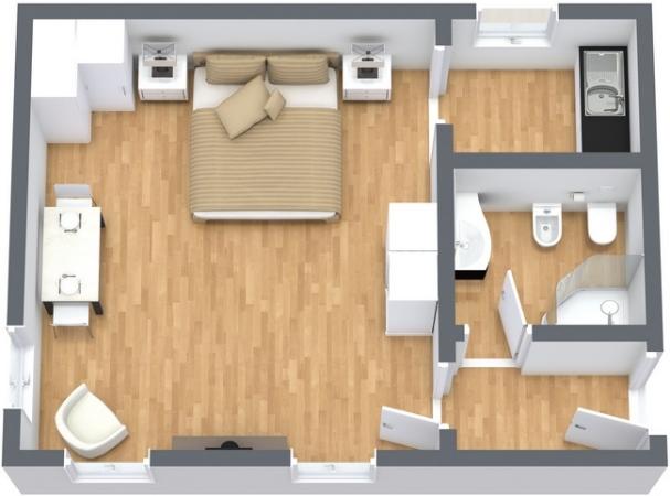 Planimetria Appartamento N.231