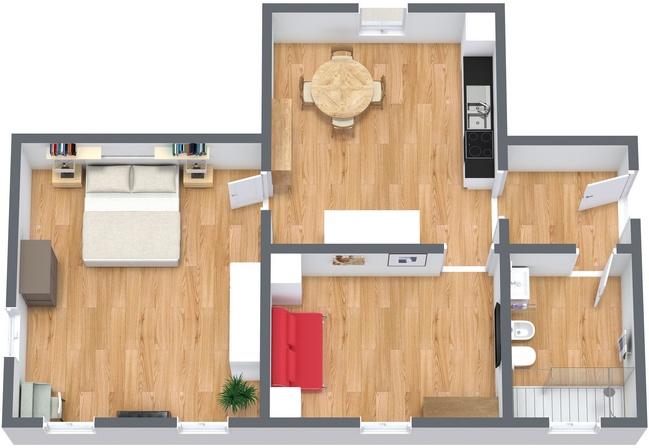 Planimetria Appartamento N.232