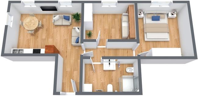 Planimetria Appartamento N.233