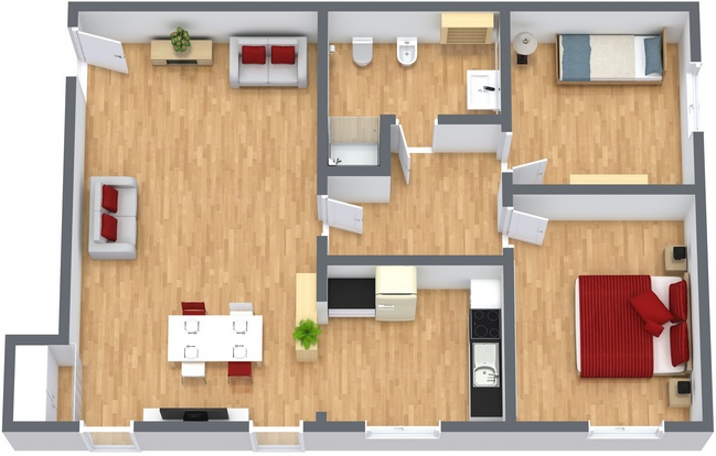 Planimetria Appartamento N.234