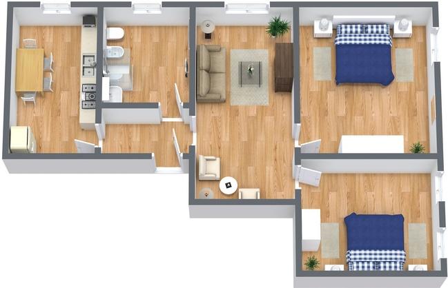 Planimetria Appartamento N.237