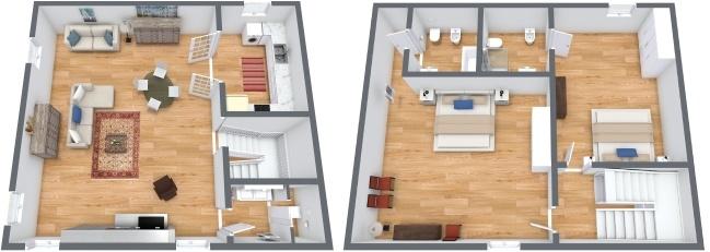 Planimetria Appartamento N.245