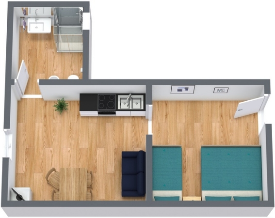 Planimetria Appartamento N.246