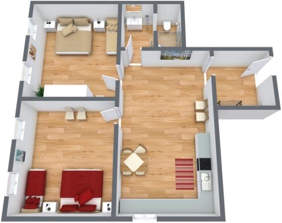 Planimetria Appartamento N.248