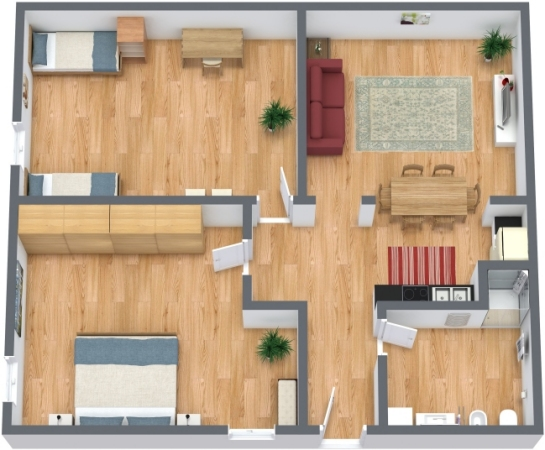 Planimetria Appartamento N.249