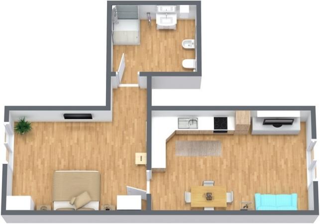 Planimetria Appartamento N.265