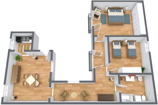 Planimetria Appartamento N.269