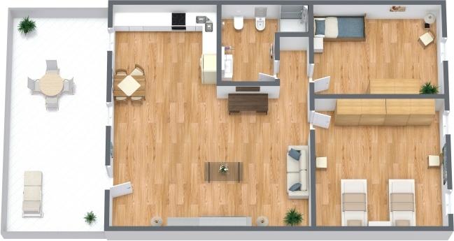 Planimetria Appartamento N.295