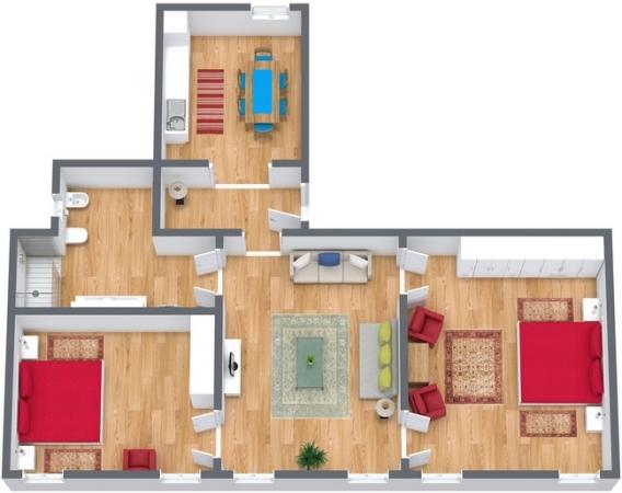 Planimetria Appartamento N.275