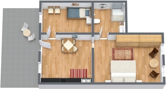 Planimetria Appartamento N.276