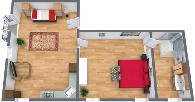 Planimetria Appartamento N.277