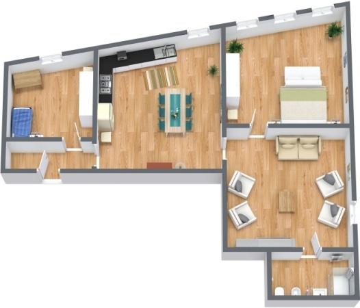Planimetria Appartamento N.278