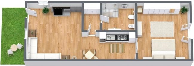 Planimetria Appartamento N.281