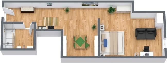 Planimetria Appartamento N.286