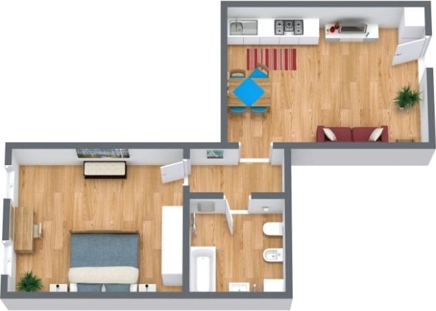 Planimetria Appartamento N.290