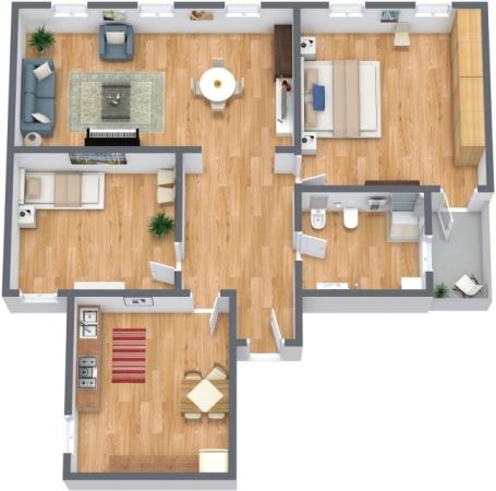 Planimetria Appartamento N.296