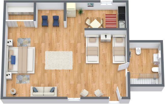 Planimetria Appartamento N.299