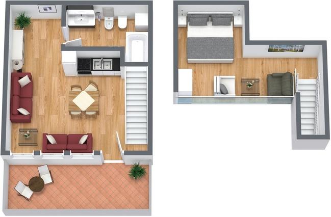 Planimetria Appartamento N.3