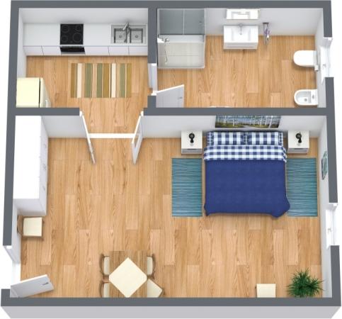Planimetria Appartamento N.301