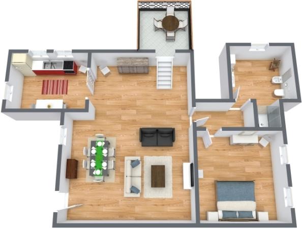 Planimetria Appartamento N.305