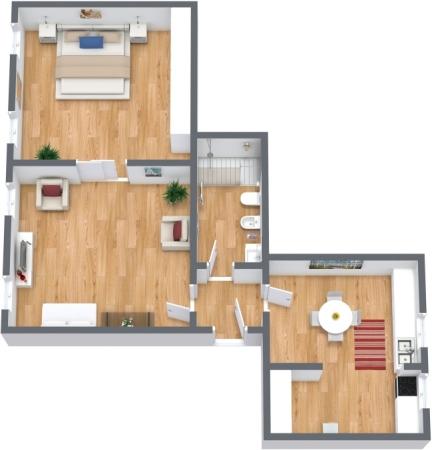Planimetria Appartamento N.308