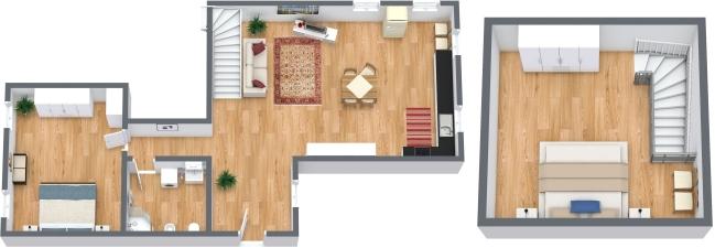 Planimetria Appartamento N.309