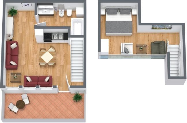 Planimetria Appartamento N.313