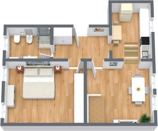 Planimetria Appartamento N.314