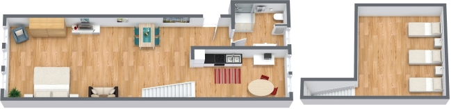 Planimetria Appartamento N.320