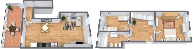 Planimetria Appartamento N.321