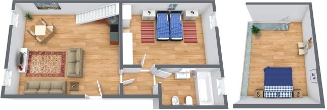 Planimetria Appartamento N.322