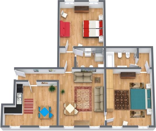 Planimetria Appartamento N.323