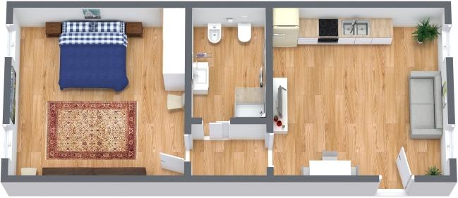 Planimetria Appartamento N.326