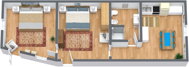 Planimetria Appartamento N.328