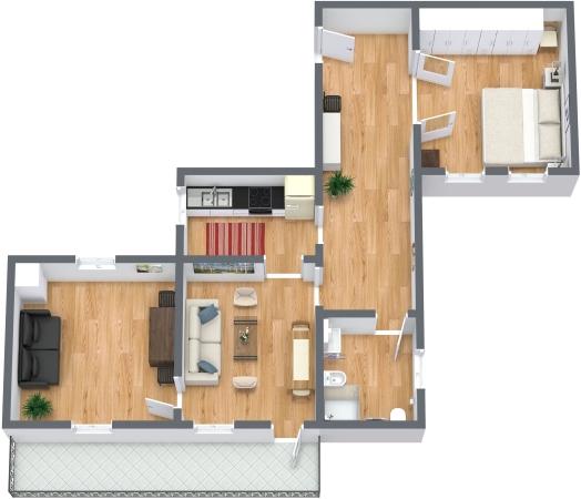 Planimetria Appartamento N.331