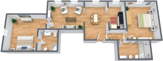 Planimetria Appartamento N.335