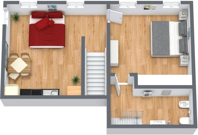 Planimetria Appartamento N.336