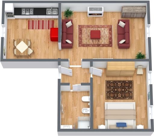 Planimetria Appartamento N.337