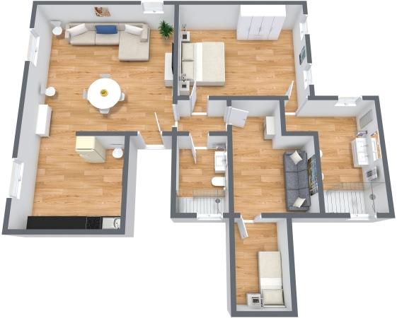Planimetria Appartamento N.338