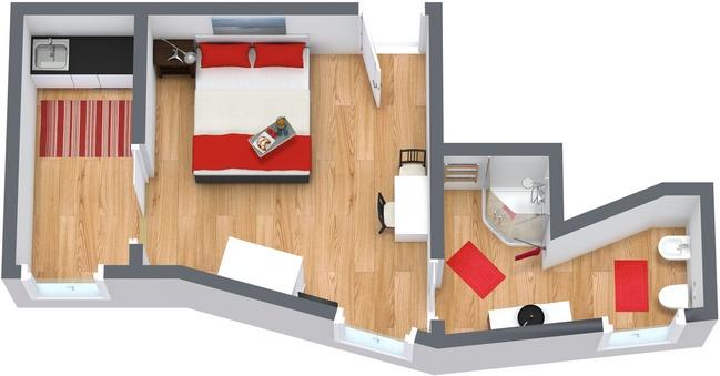 Planimetria Appartamento N.34