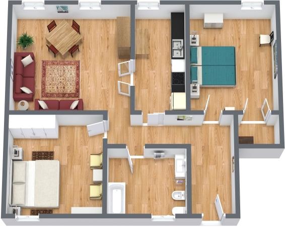 Planimetria Appartamento N.340