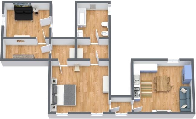 Planimetria Appartamento N.347