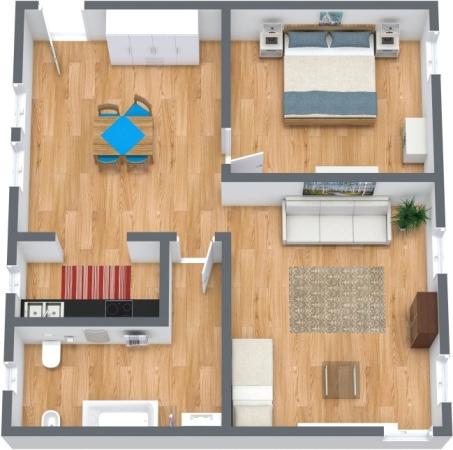 Planimetria Appartamento N.349
