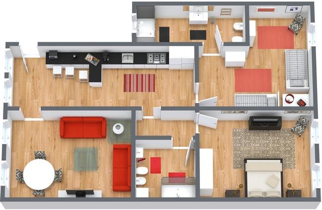 Planimetria Appartamento N.35