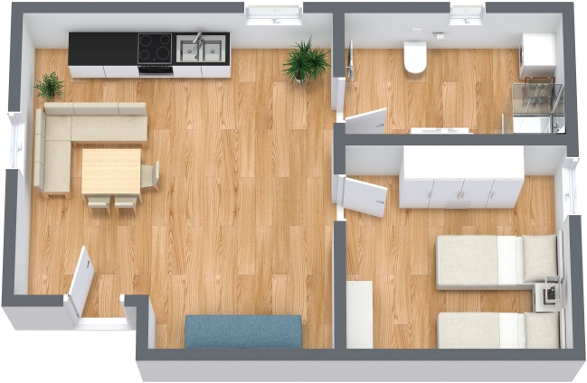 Planimetria Appartamento N.352